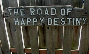 the road of happy destiny